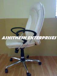 Metallic Leather Chair