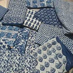 Dabu Running Fabric - Printed Dress Material