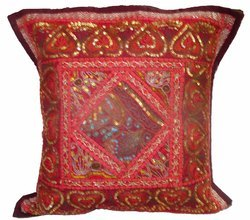 Moti Old Patch Work Cushion Cover