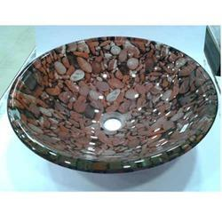 Toyo Glass Bowls Wash Basin