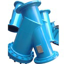 Y Type Strainer Fabricated