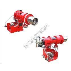 dual fuel oil gas burner
