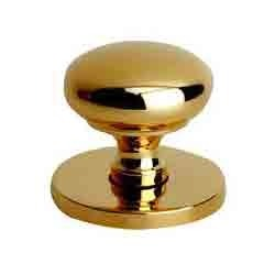 Brass Door Knobs - Victorian