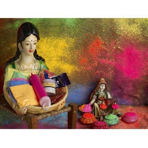 Women Holi Colour Gift Hampers