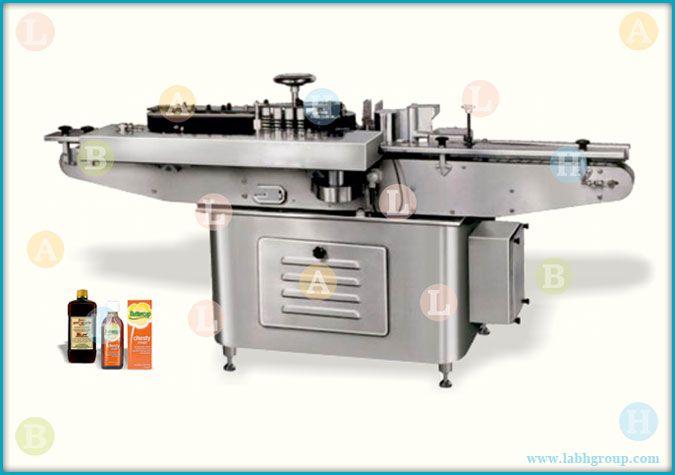 Automatic Wet Glue Paper Label Applicator Equipment for Flat Bottles