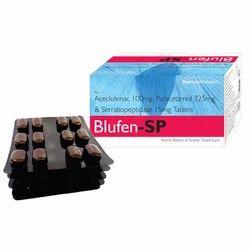 Aceclofenac 100 Mg- Paracetamol Tablets