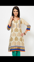 Smart Block Printed Kurti