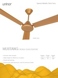 Mustang Premium Metallic Fan