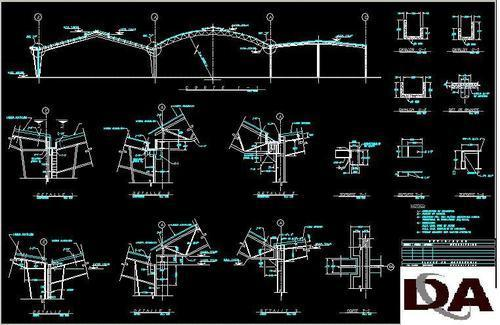 Free  autocad dwg mall drawing