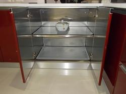 Kitchen Cabinet Stainless Steel Cabinets Crockery Unit Manufacturer