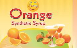 Orange Synthetic Syrup