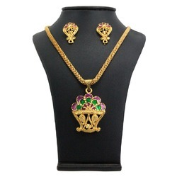 indian fashion pendant jewelry set