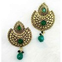 Colorful Pendent and Earrings Set
