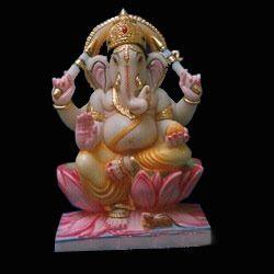 Marble Ganpati Statues