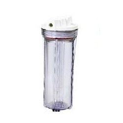 10 Clear Filter Membrane Housing