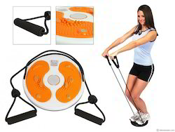 Kawachi Twisting Disc Massage Body Exercise with Rope