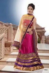 Bridal Wear Lehenga Silk Stone Work Designer Sarees