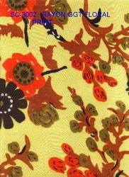 Rayon GGT Floral Print Scarves