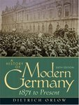 A History Of Modern Germany 1871 To Present