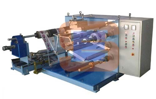 Doctoring Cum Slitting Rewinding Machine