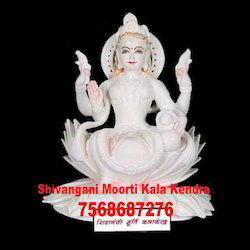 White Marble Laxmi Murti