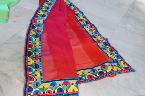 Hand Embroidery Hand Embroidery In Saree From Vadodara