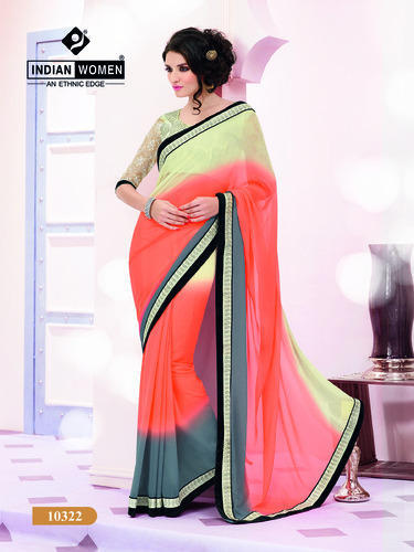 Georgette Party Wear Sarees Online Shopping