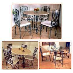 Steel Dining Set
