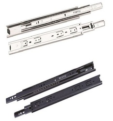 Steel Telescopic Channel or Drawer Slide - Silver Range