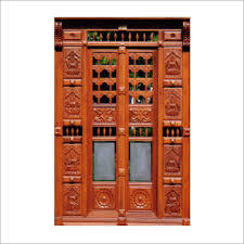 GRP Pooja Room Doors