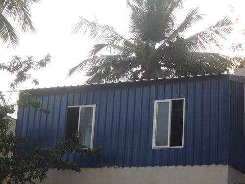 Terrace roofing sheds at rs 110 square feet s roofing for Terrace shed designs india