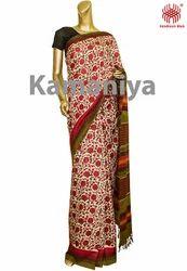 Handloom Matka Fabric Sarees