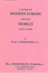 A Study of Modern Europe And The World (1815-1950) - Book