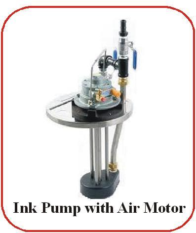 Ink Pump With Air Motor Ink Pump With Air Motor
