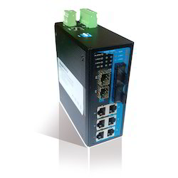 Industrial DIN-Rail Managed Ethernet Switches(6TP 2F 4G )