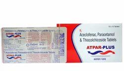 Aceclo 100mg  Para 325mg   Thio 4 Mg Tablets