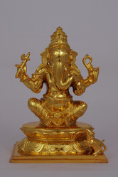 Gold Plated Ganpati