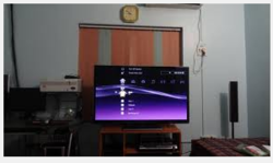 lcd tv 32 with airtel digital connection in every room