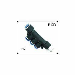 Pneumatic / Pu Male Triple Union