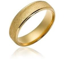 Wedding Gold Band
