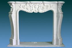 Marble Carving - Fireplace