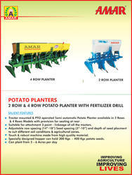 Amar Potato Planter 2 & 4 Row