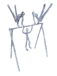 Aluminum Gymnastic Decor