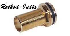 Brass Round Headed Connector