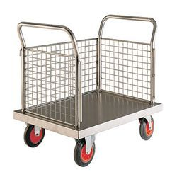 Textile Stainless Steel Trolley