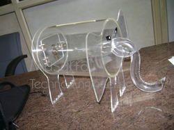 Acrylic Elephant Suggestion Box