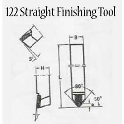 Straight Finishing Tools