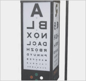 Visionox -9034 illuminated Near Vision Test Drum