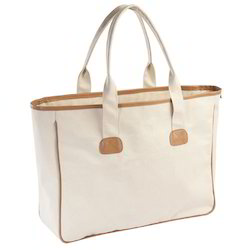 Canvas Bag with Self Handle