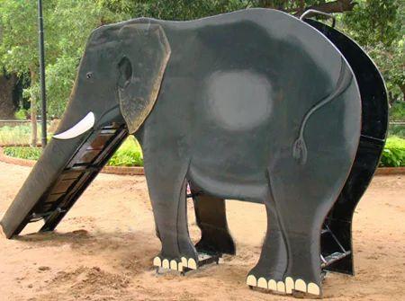 playground slides elephant slide manufacturer from bahadurgarh